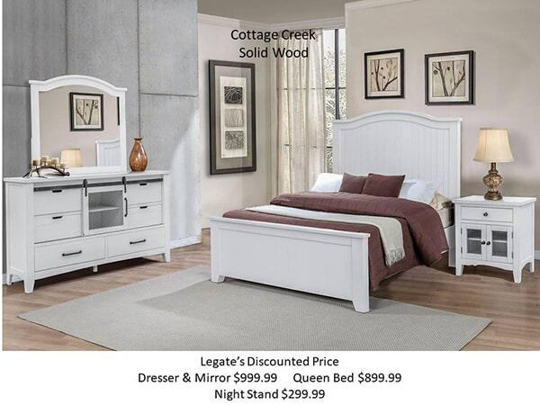 Stockton white bedroom