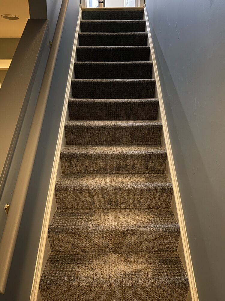 Carpet stairs in Bethesda, MD from Carpet & Floor Express