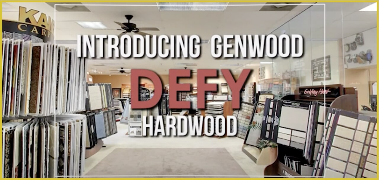 Introducing Genwood Defy hardwood flooring at MP Contract Flooring in Lakewood, NJ