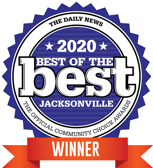 Voted 2020 Best of the Best Winner Floor Covering Store by The Daily News Jacksonville