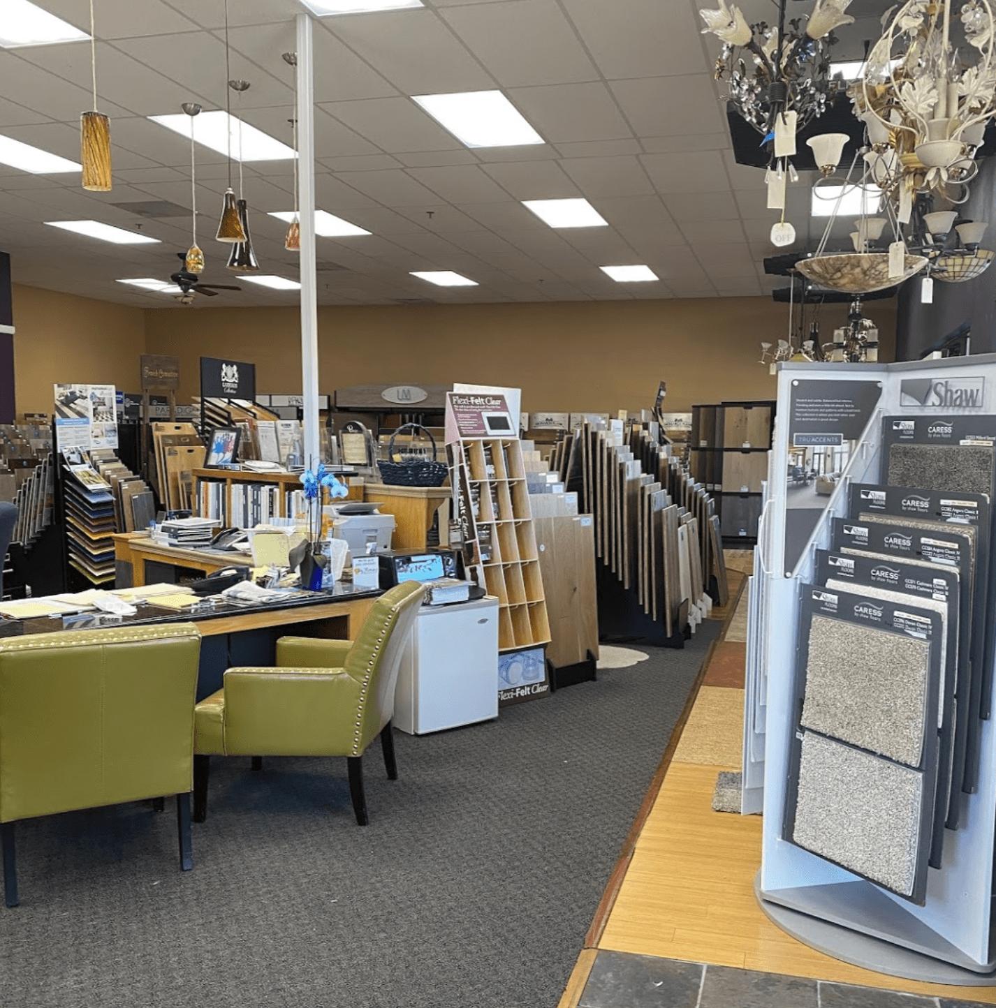 Carpet Center showroom near Rohnert Park, CA