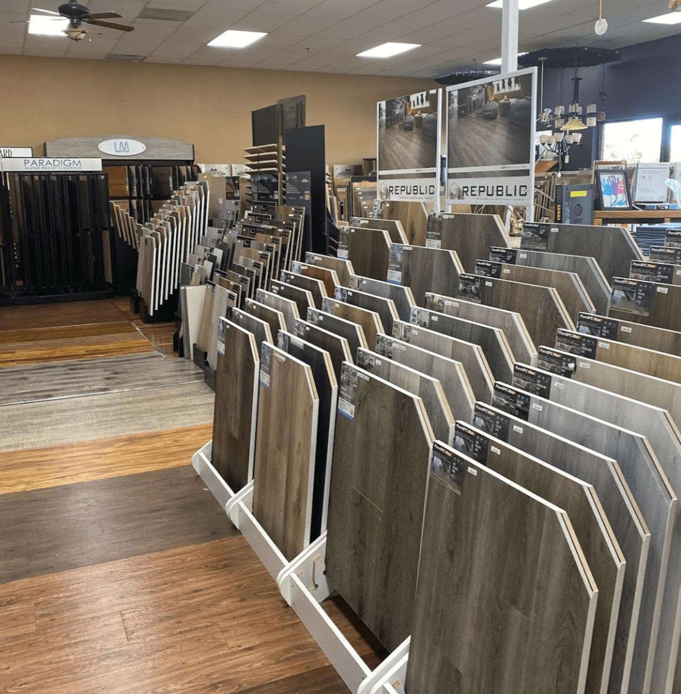 Hardwood flooring in Cloverdale, CA from Carpet Center