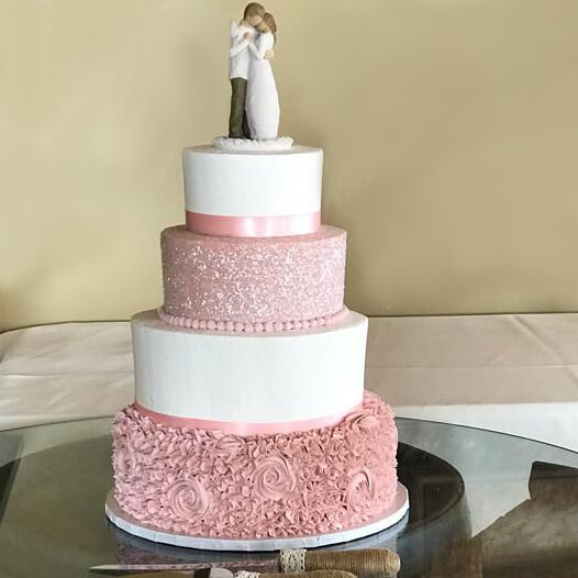 Wedding Pink White-min
