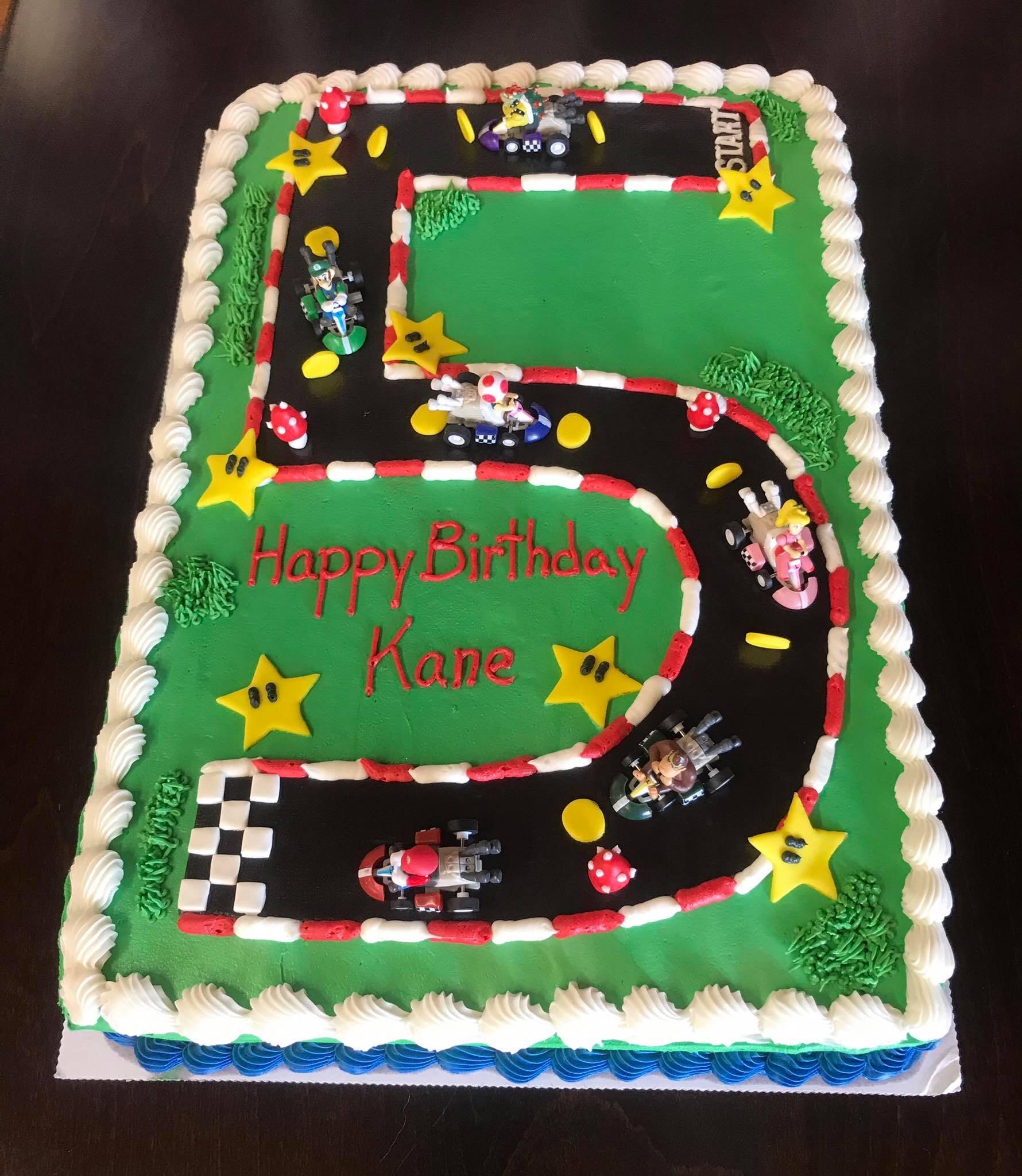 Happy 5 Kane Sheet Cake-min