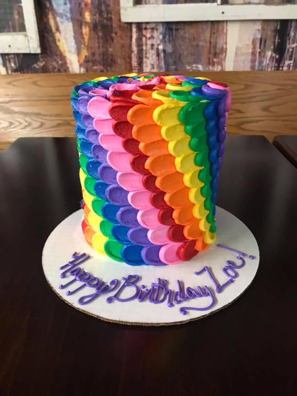Tall Rainbow Zoe Cake-min