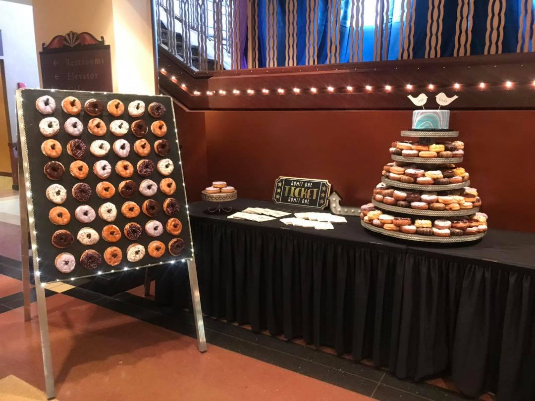 Donut Cake Tower & Stand-min