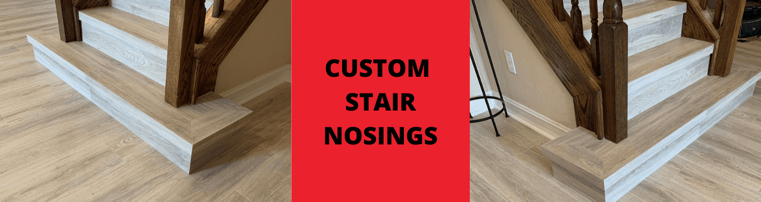 Custom stair nosings