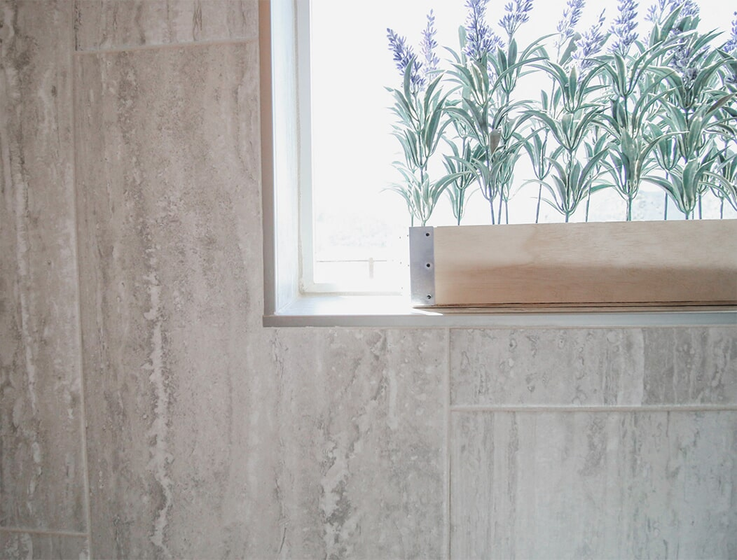Wall tile at 'Elements at Sunset' from Pioneer Floor Coverings & Design
