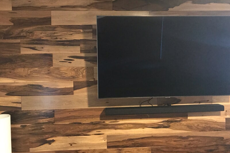 Natural wood wall covering in Santa Clara, CA from Floor Depot