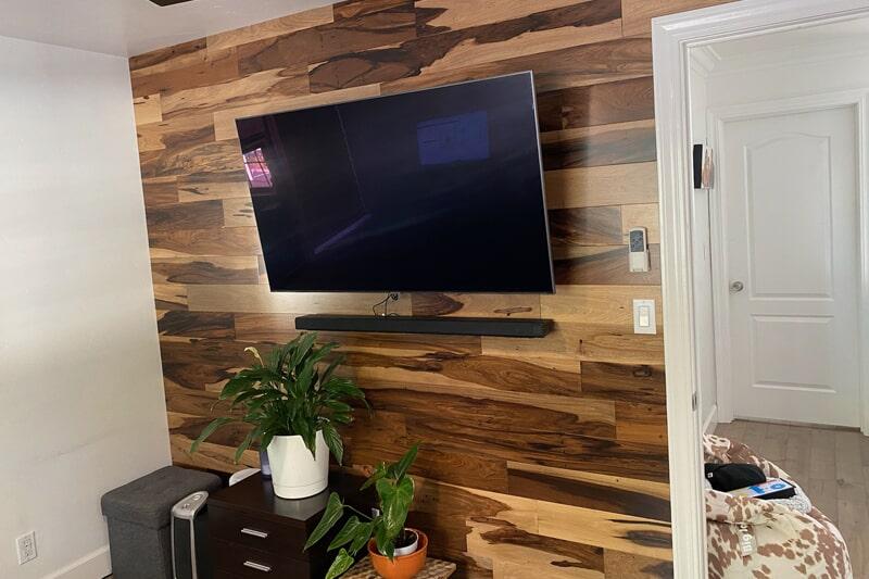 Hardwood wallcovering in Santa Clara, CA from Floor Depot