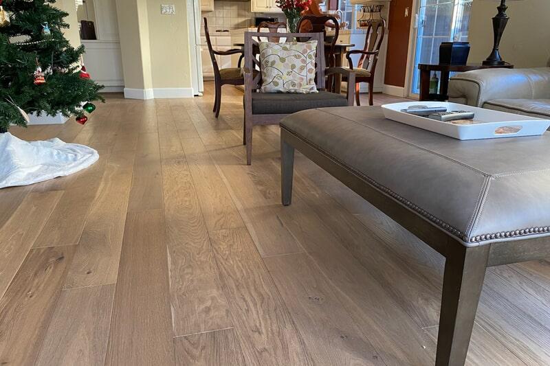 Light tone hardwood in San Jose, CA from Floor Depot