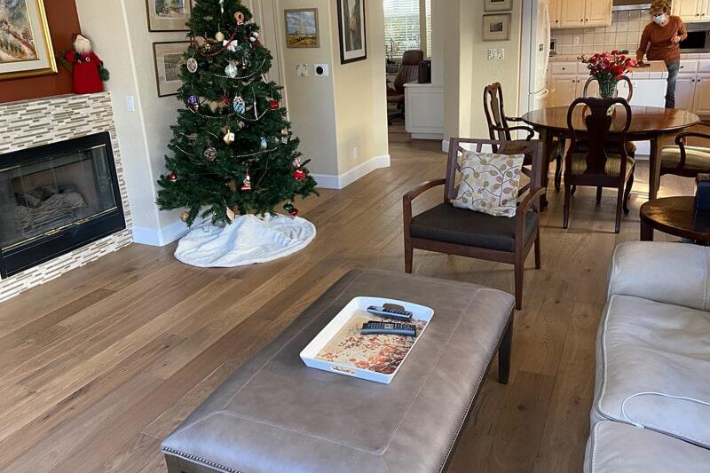 Living room renovation in San Jose, CA from Floor Depot