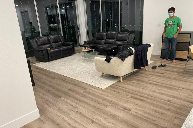 Modern wood floors in Los Altos, CA from Floor Depot