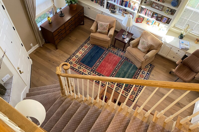 Carpet stair runner in Fremont, CA from Floor Depot