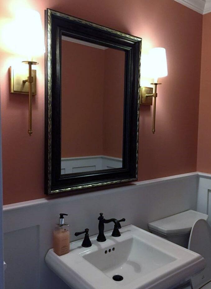 Ornate bathroom hardware from Richie Ballance Flooring & Tile in Wilson, NC