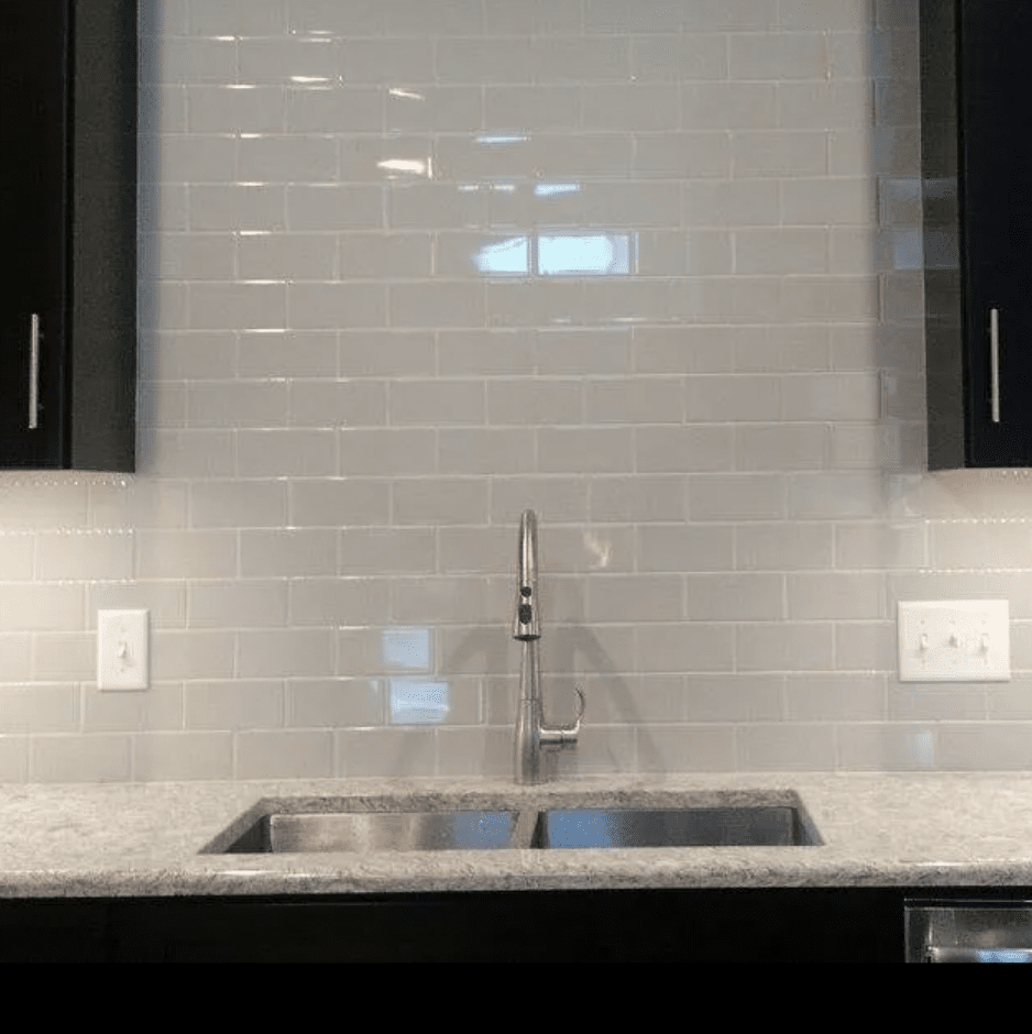 Tile backsplash in West Salem, WI from Leon Country Floors