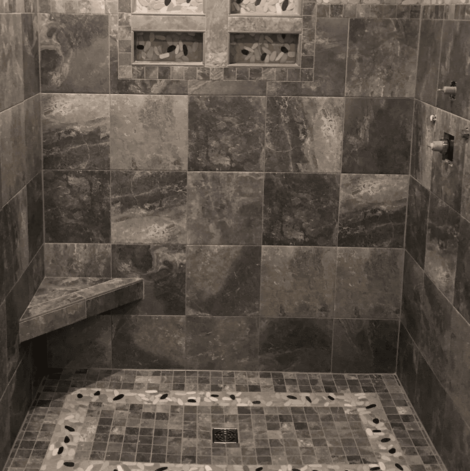 Tile showers in La Crosse, WI from Leon Country Floors