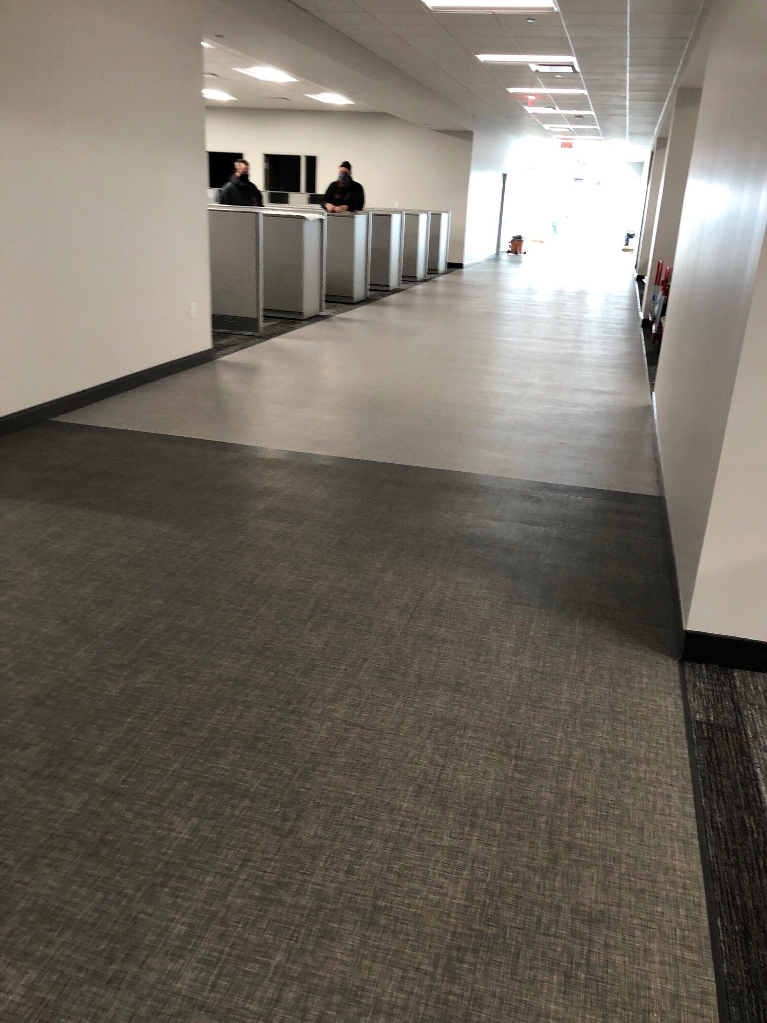 Modern commercial floors in  from Barrington Carpet & Flooring Design