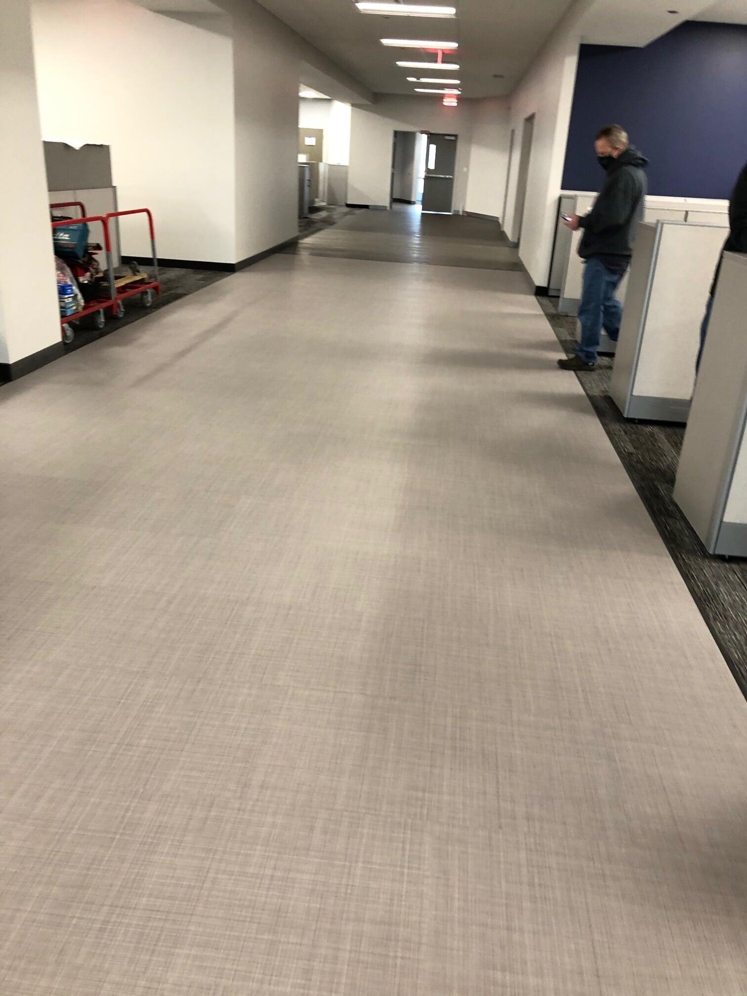 Commercial flooring installation in  from Barrington Carpet & Flooring Design