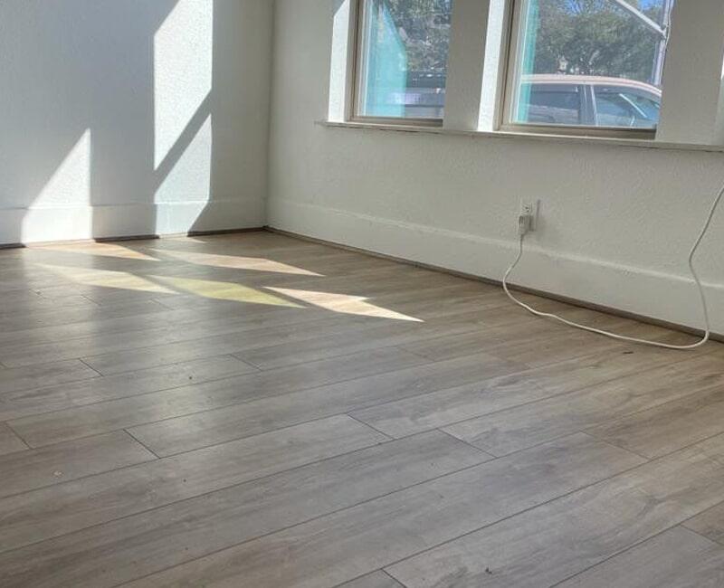 Light tone hardwood in Houston, TX from Floor Inspirations