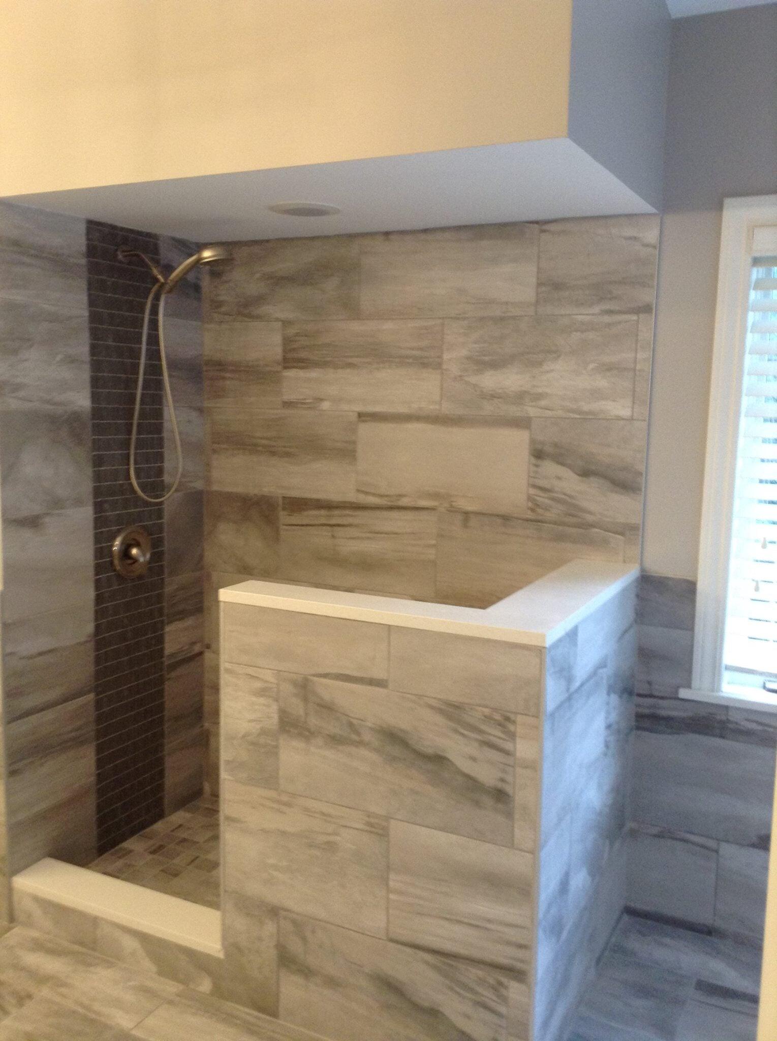 Bathroom Tile Installation- Wall and Floor Tile
