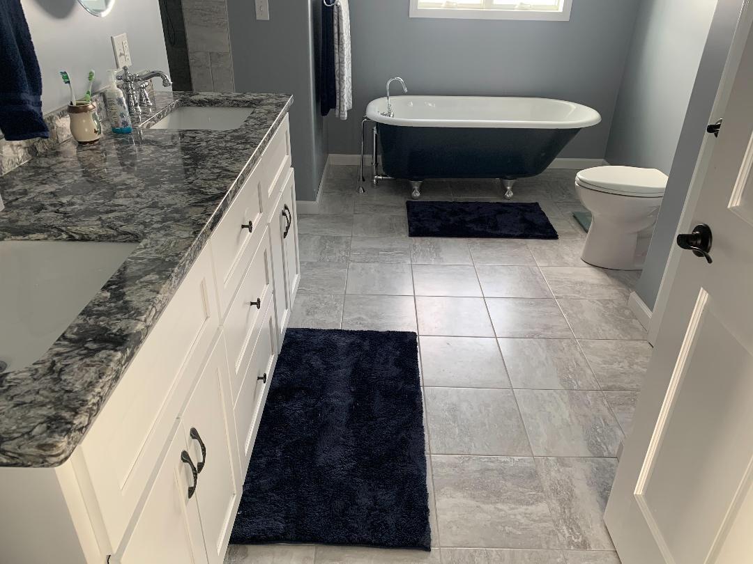 Bathroom Tile Installation Floor Tile