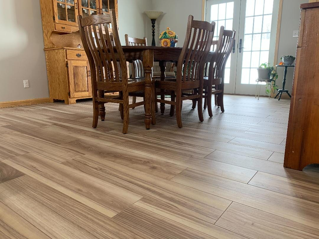 Kitchen Floor Installation: Ceramic Tile Style- Stratford Place