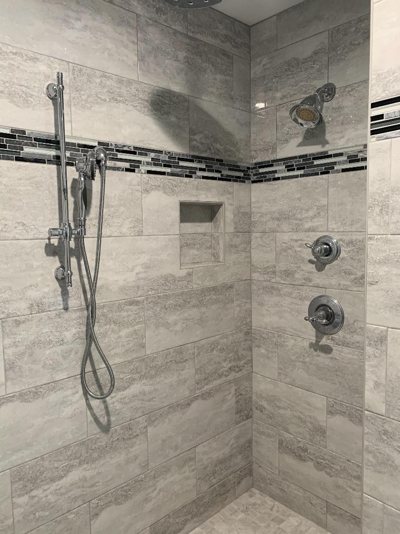 Bathroom Shower Tile Installation