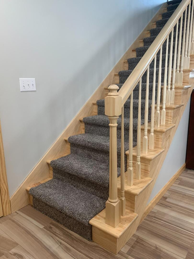 Carpet Runner Installation: Mohawk Carpet Style- Rustic Splendo
