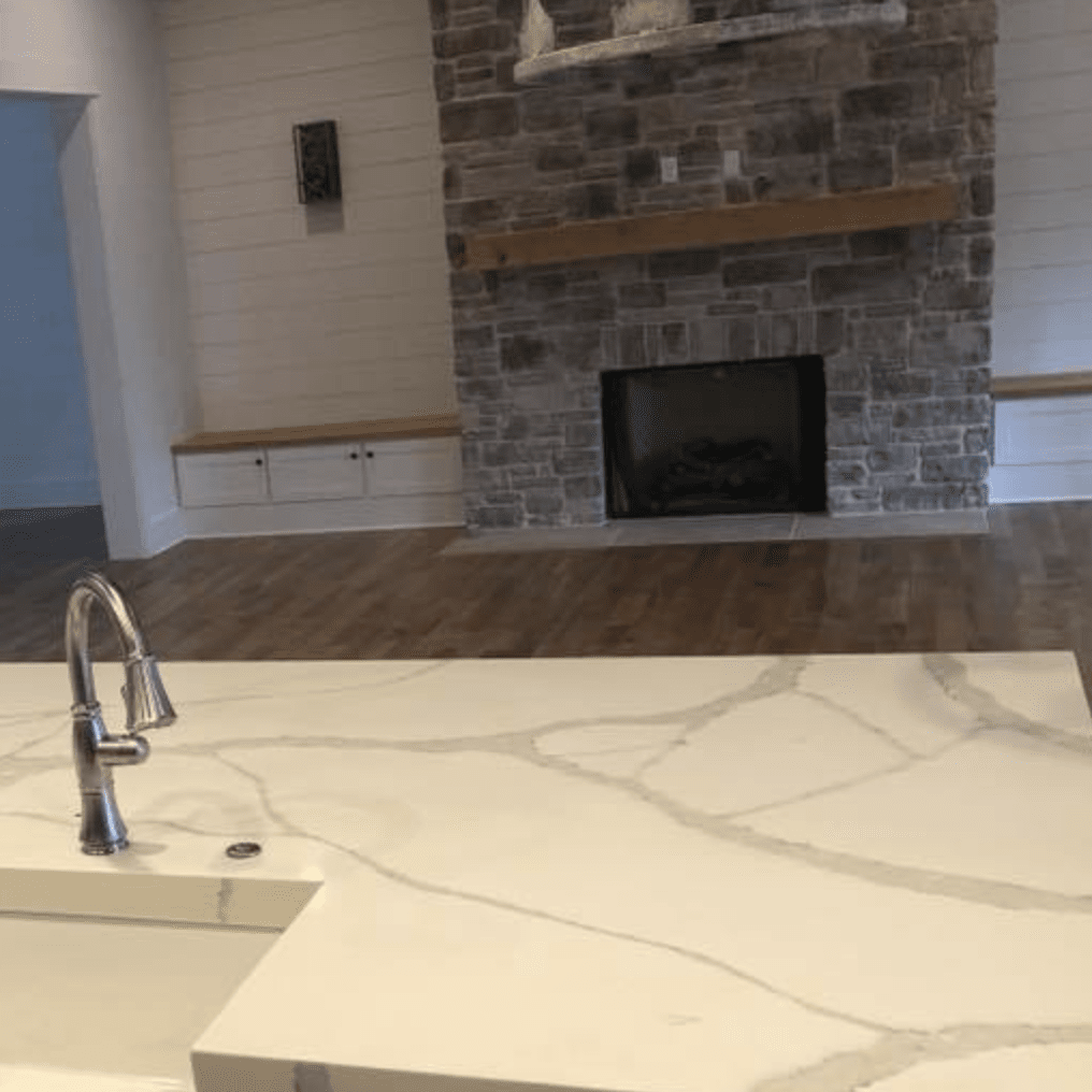 Marble countertops in Olive Branch, MS from DeSoto Floor Covering & Interiors