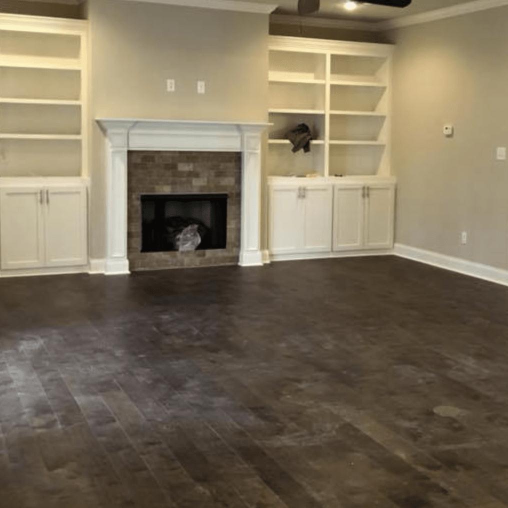 Rustic hardwood flooring in Germantown, TN from DeSoto Floor Covering & Interiors