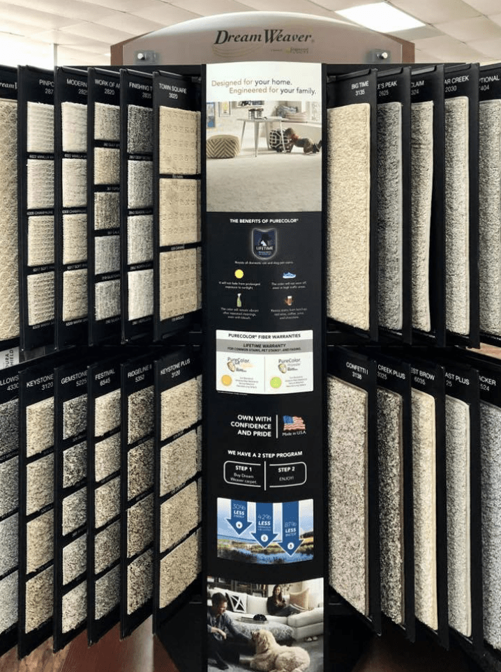 Carpet options for your Wake Village, TX home from Carter Adams Flooring