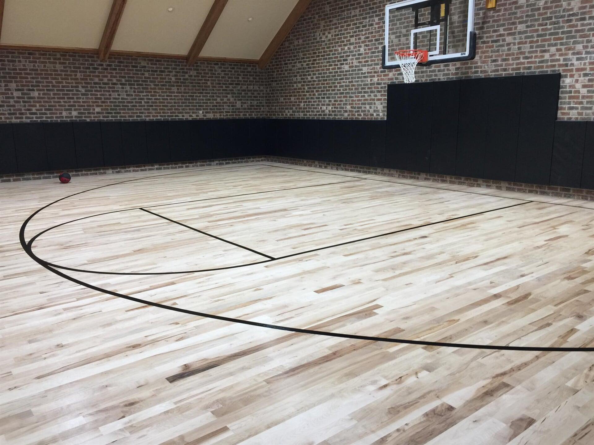 Gynasium flooring in Texarkana, TX from Carter Adams Flooring