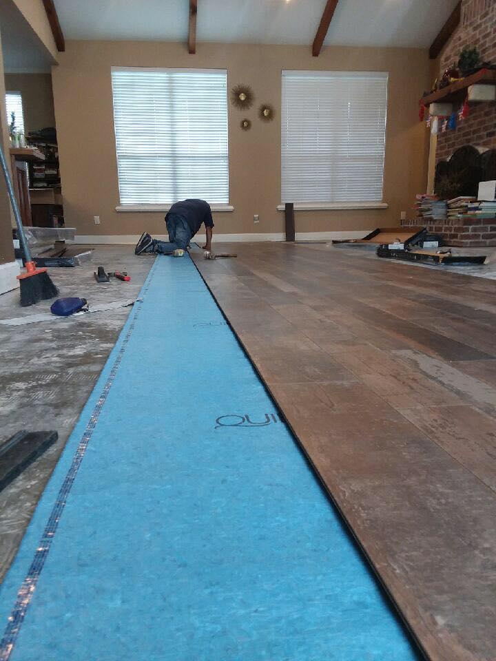 Professional flooring installation in Bowie, TX from Carter Adams Flooring