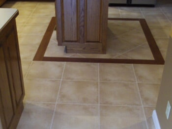 Tile flooring installation in Fairview Heights, IL from Eagle Flooring Outlet