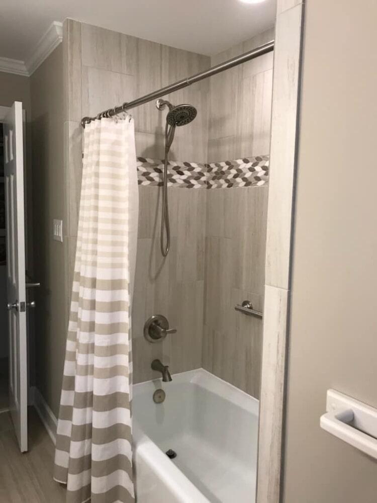 Shower installation in Wilson, NC from Richie Ballance Flooring & Tile