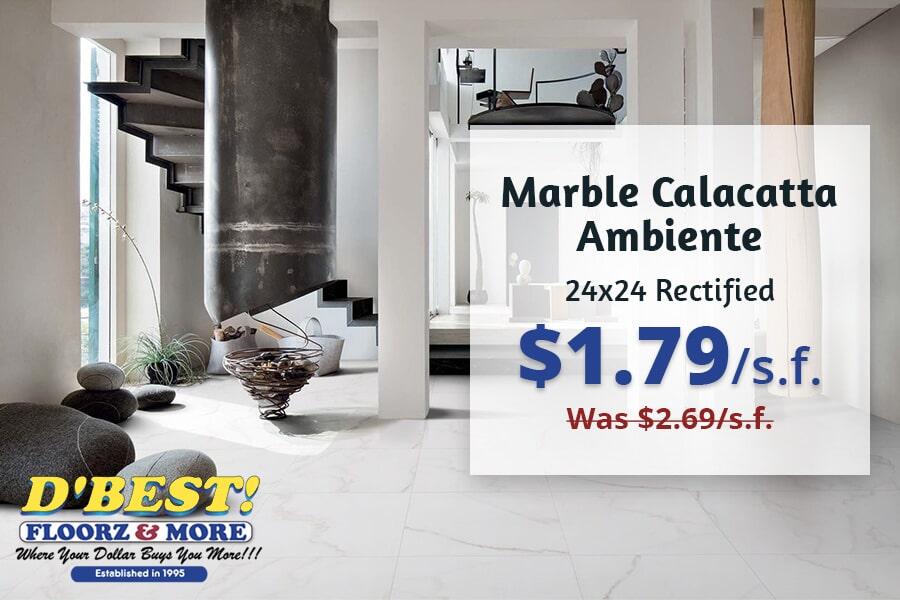 Marble Calacatta Ambiente