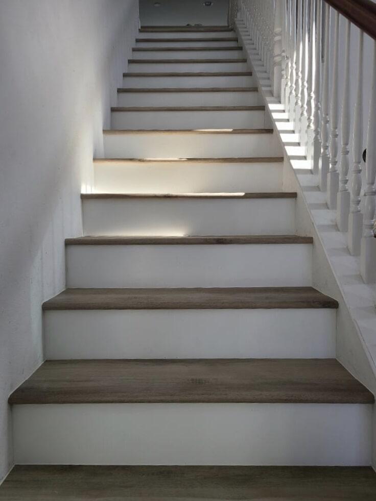 Hardwood stairs in Murrieta, CA from Hardwood Floors Outlet