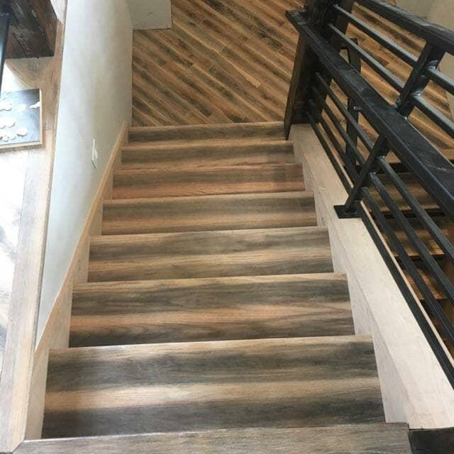 Multi-color wood flooring in Firestone, CO from JT Flooring