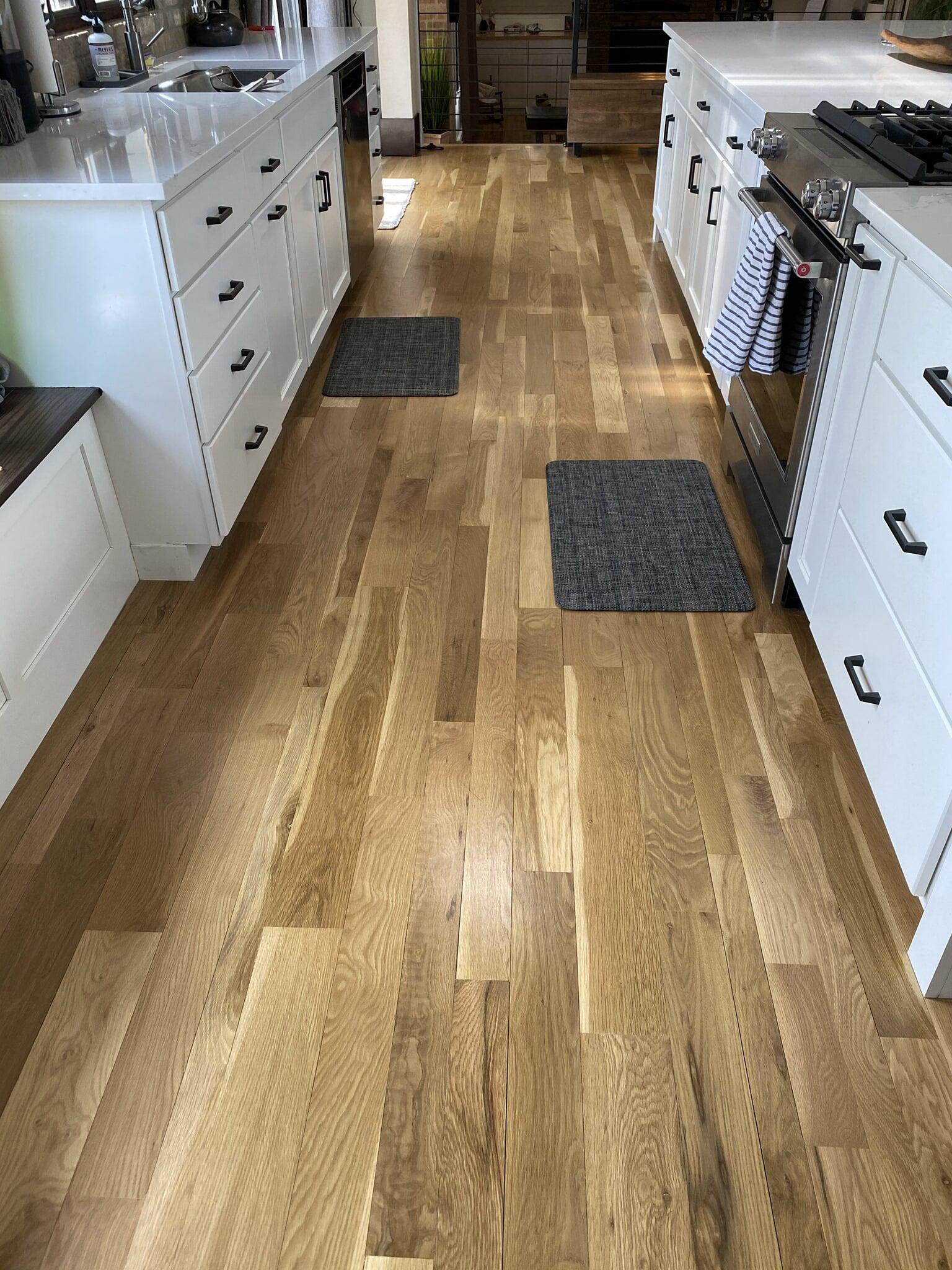 Kitchen flooring in Wellington, CO from JT Flooring