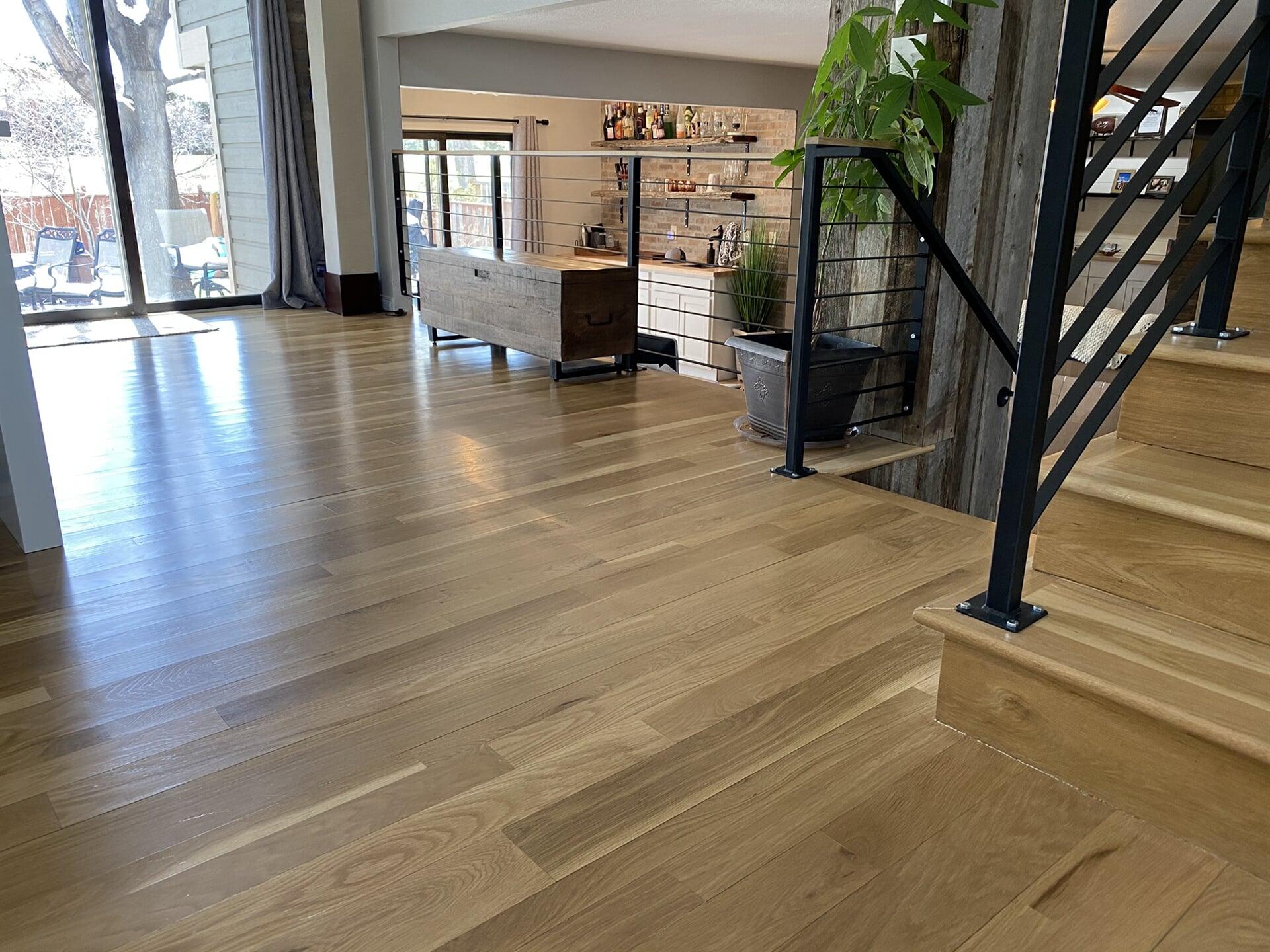 Vinyl plank flooring in Timnath, CO from JT Flooring