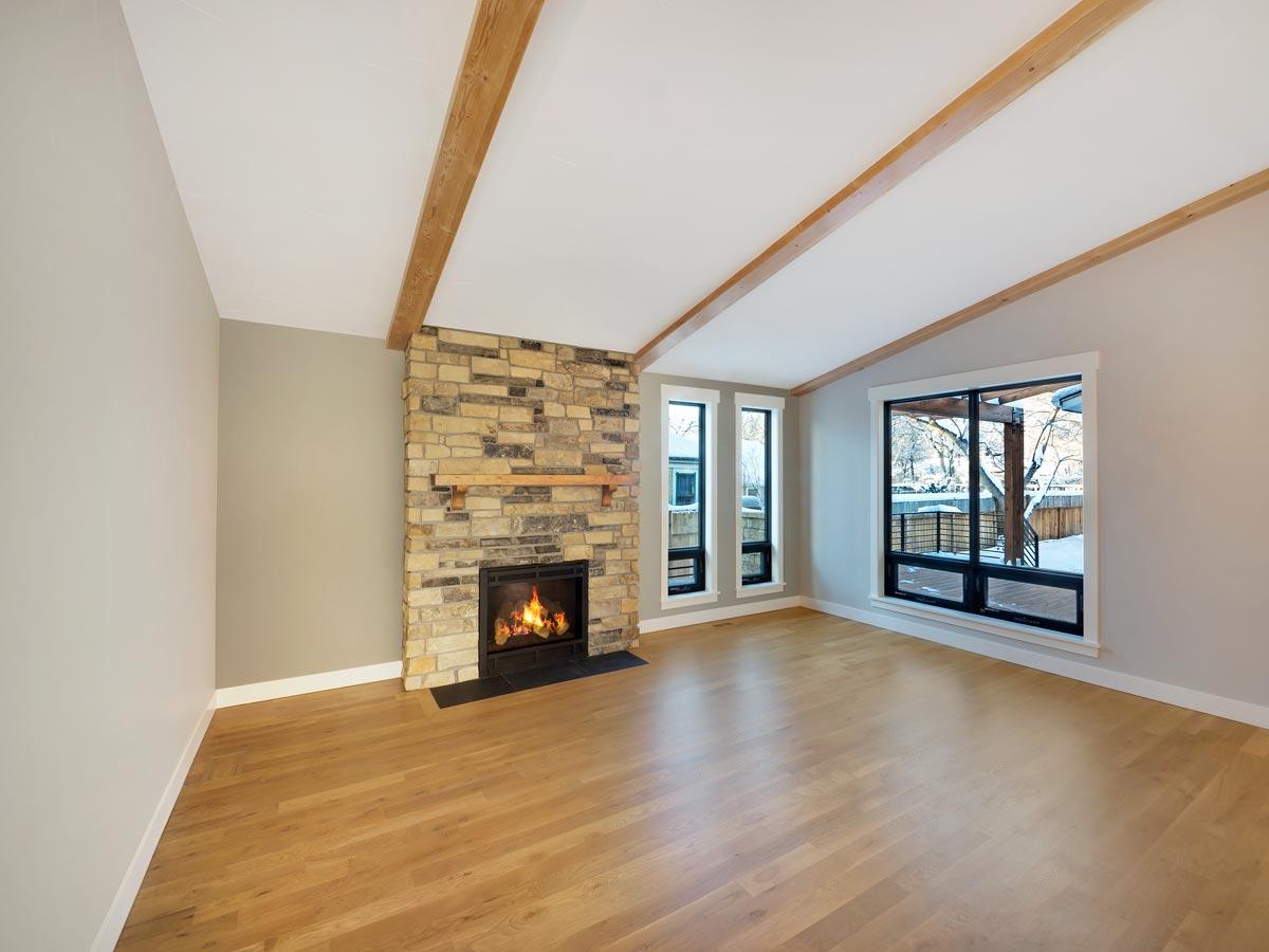 Hardwood flooring installation in Loveland, CO from JT Flooring