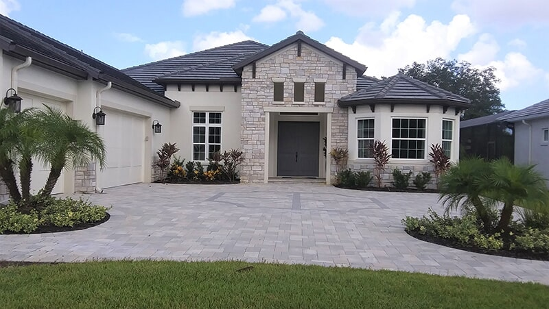 Increased curb appeal in Venice, FL from Manasota Flooring