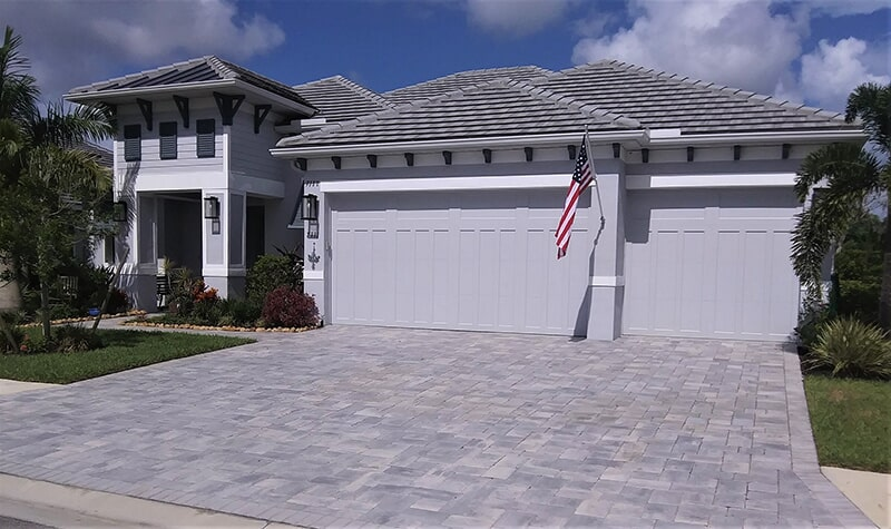 Paved driveway in Sarasota, FL from Manasota Flooring