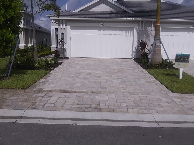 Driveway installation in Bradenton, FL from Manasota Flooring