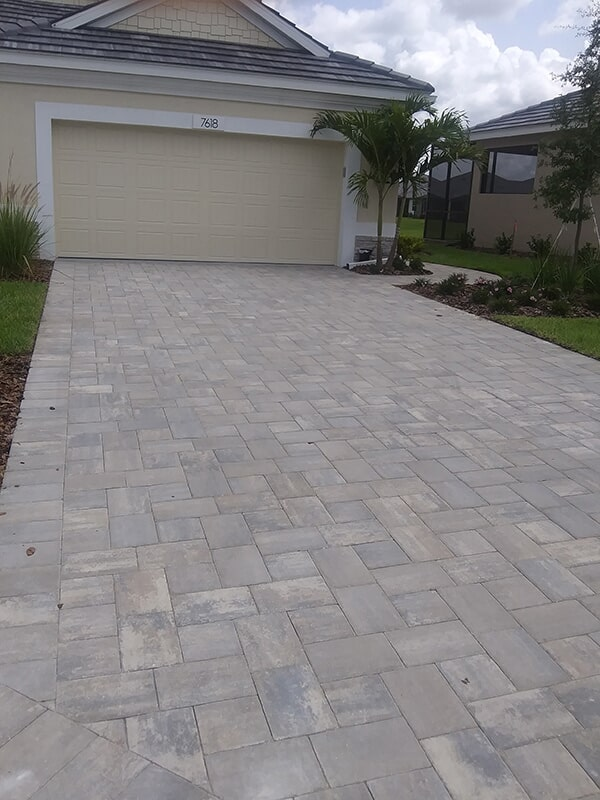 Brick paver installation in Sarasota, FL from Manasota Flooring