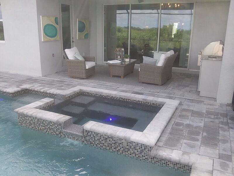 Pool deck design in Sarasota, FL from Manasota Flooring