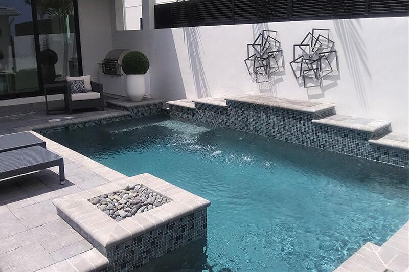 Brick pool deck in Sarasota, FL from Manasota Flooring
