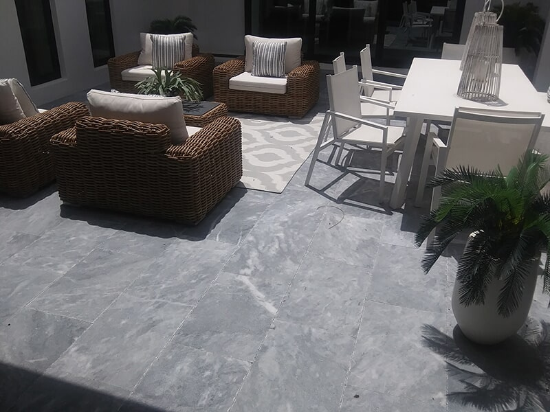 Outdoor living space in Sarasota, FL from Manasota Flooring