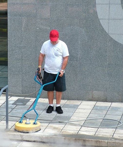 Professional paver cleaning in Bradenton, FL from Manasota Flooring